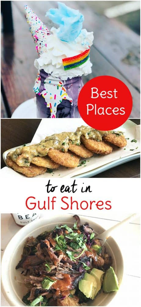 Experience some of the best places to eat in Gulf Shores! We even visited a couple of these best restaurants Gulf Shores and Orange beach have to offer twice during our trip. Be sure to check out these best Gulf Shores restaurants on your next Alabama Gulf Coast vacation.