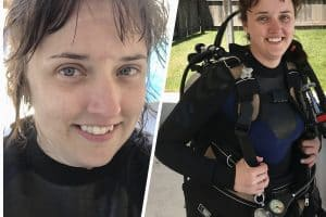 Gulf Shores scuba diving! Yes, you can go scuba diving in Gulf Shores and obtain many of your PADI certifications while you're there. Perfect for family travel!