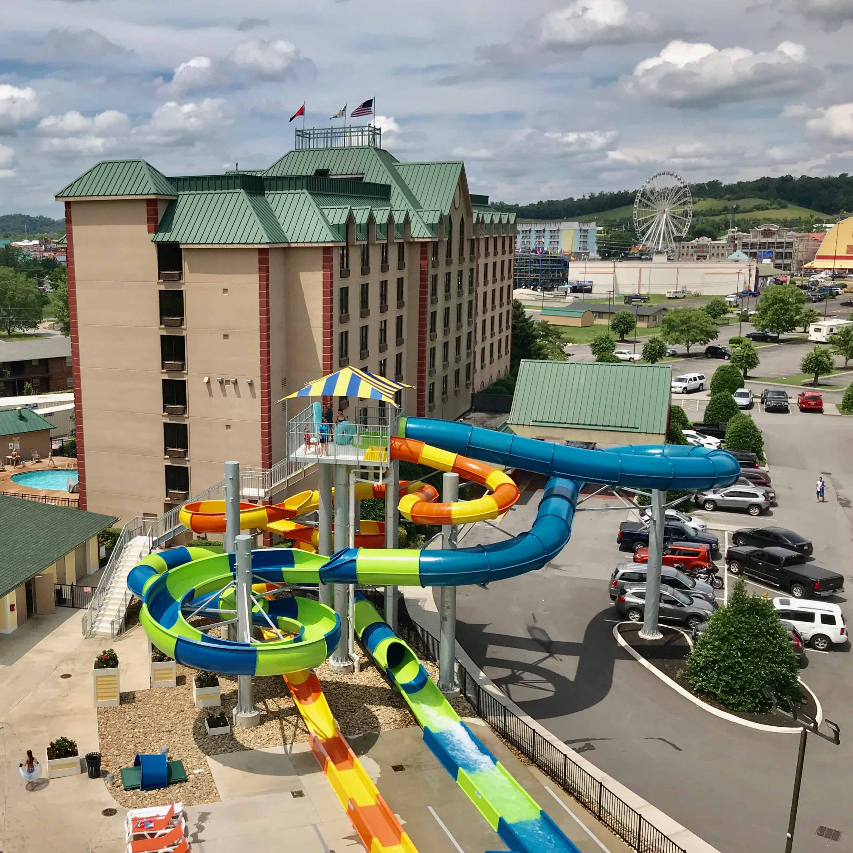 Country Cascades Hotel Pigeon Forge Tennessee is built with families in mind with everything from the waterpark to the breakfast area. If you're planning some Pigeon Forge family fun, this summer here are 5 reasons to consider a stay at Country Cascades.