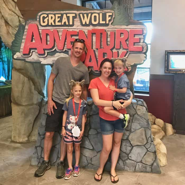 great wolf lodge georgia family picture