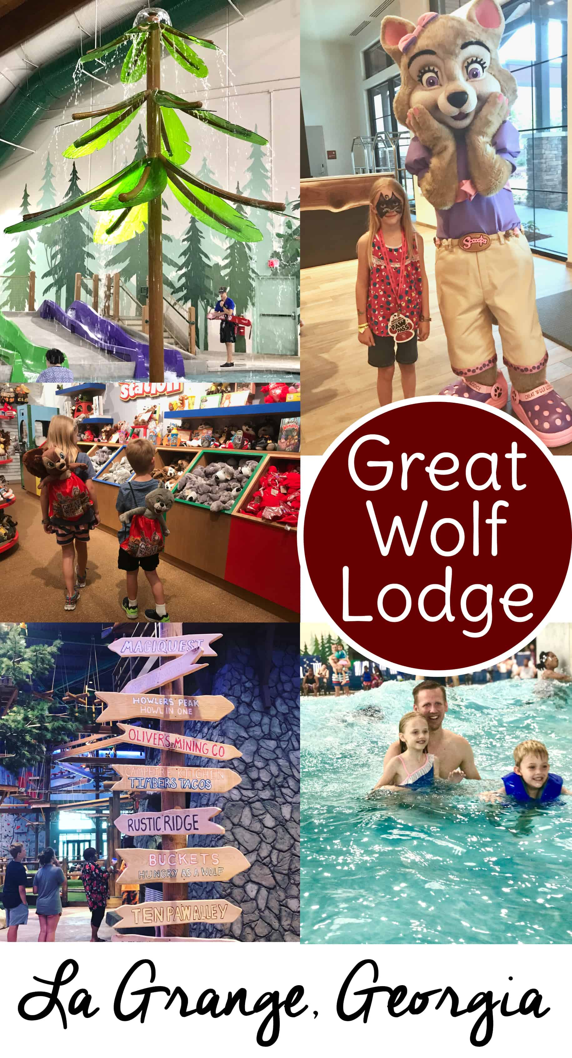 Learn everything you need to know for your Great Wolf Lodge Georgia trip with these Great Wolf Lodge tips, tricks, and walkthroughs.  #familytravel #GreatWolfGA