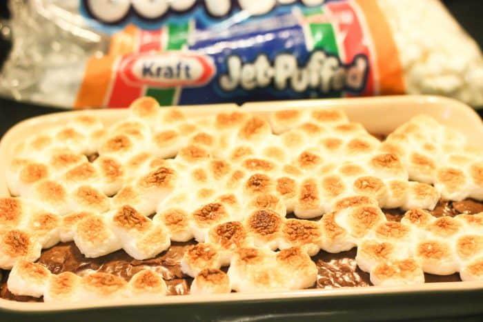 S'mores Pop Tart Stuffed Brownies