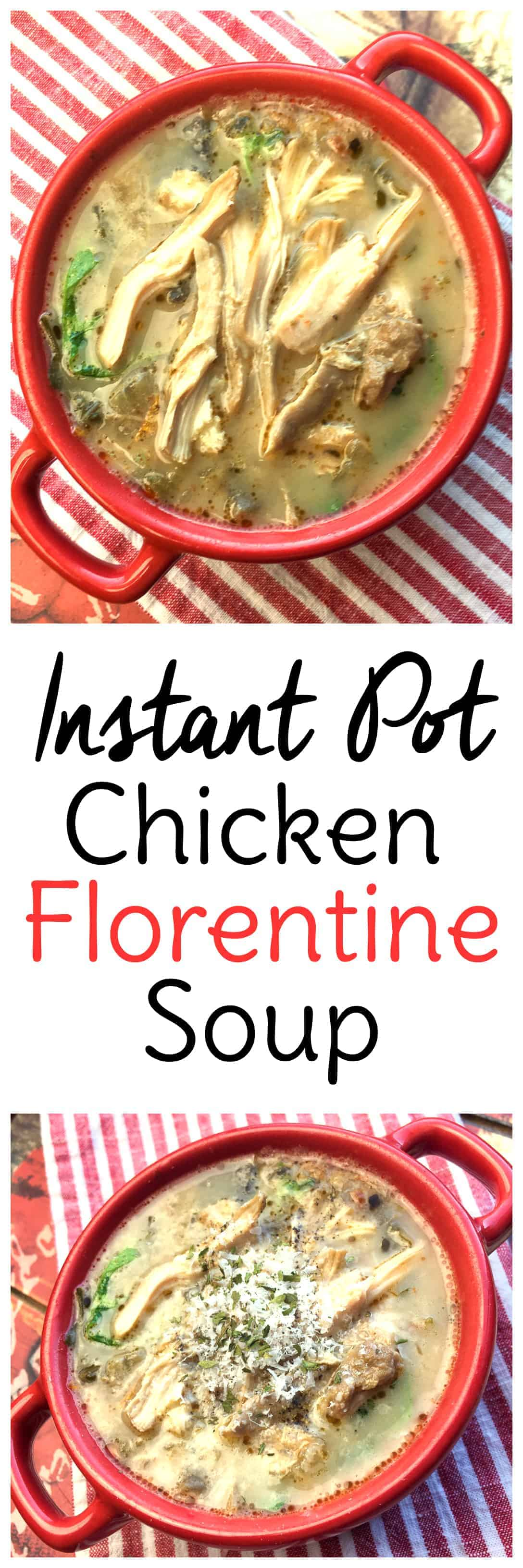 This Instant Pot chicken soup is a some of the best comfort food you'll enjoy this season. #instantpot #chickensoup