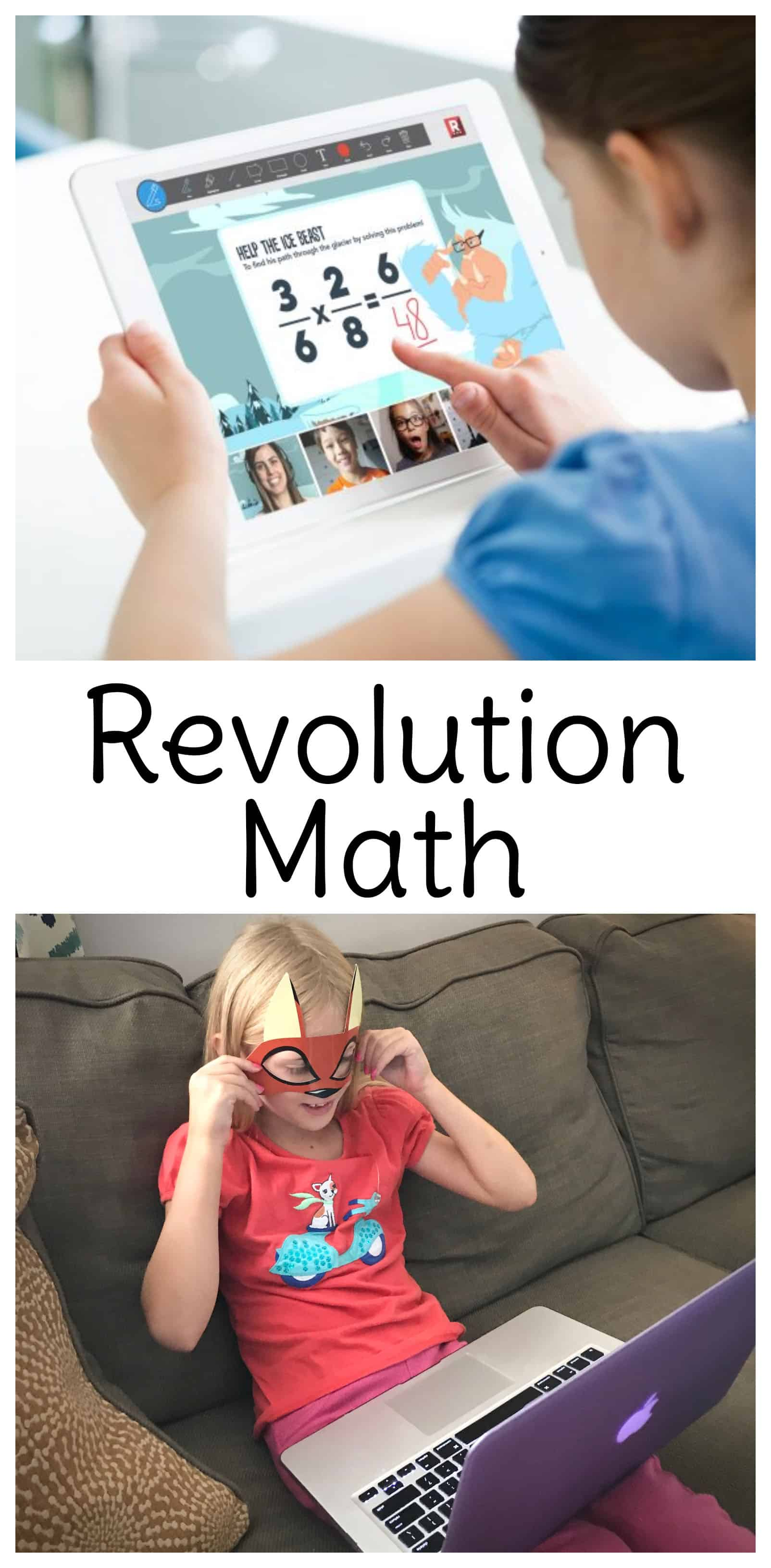 With math games for second grade through fifth grade, Revolution Math combines livetutoring and engagement with other students with an immersive, story-based curriculum. #math #mathgames