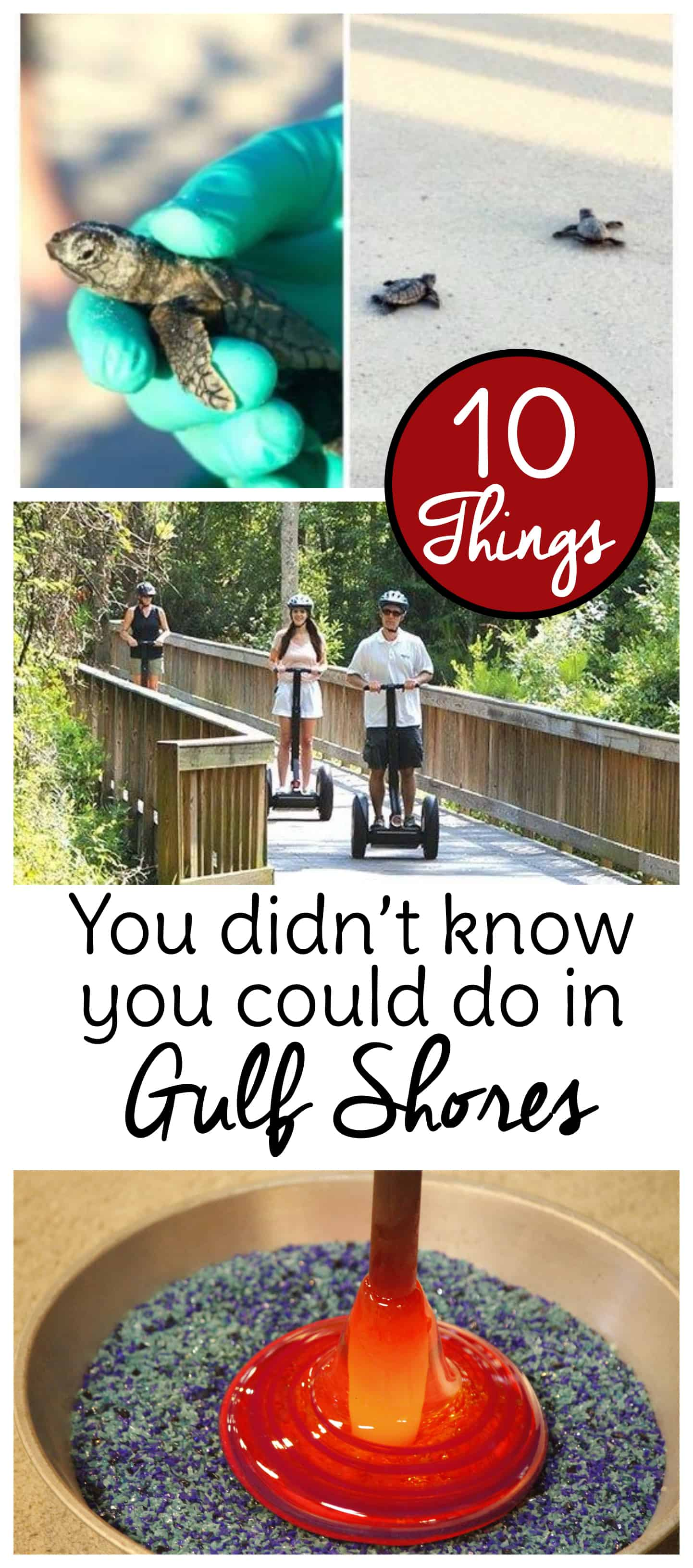 10 unique things to do in Gulf Shores Alabama that you may not have tried yet. Make your next Gulf Shores vacation even more memorable with one of these special activities. #gulfshores #familytravel #travel