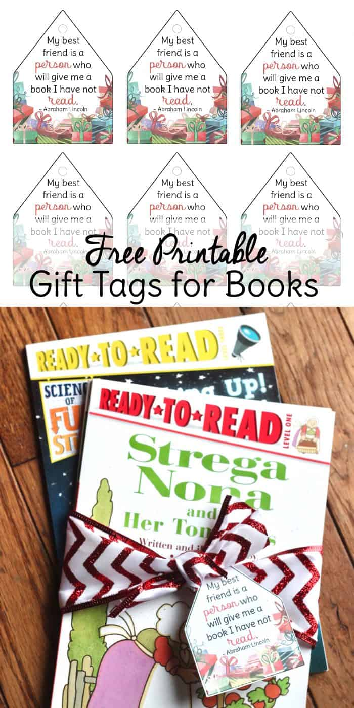 Christmas Gift Tags For Kids.Free Printable Christmas Gift Tags For Ready To Read Books