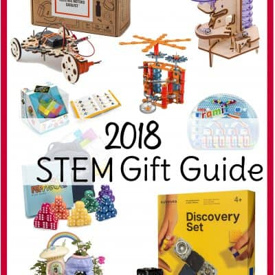 STEM gifts for kids for Christmas 2018! You'll find just about any STEM toys for kids you can think of in this holiday gift guide. #STEM ##giftsforkids
