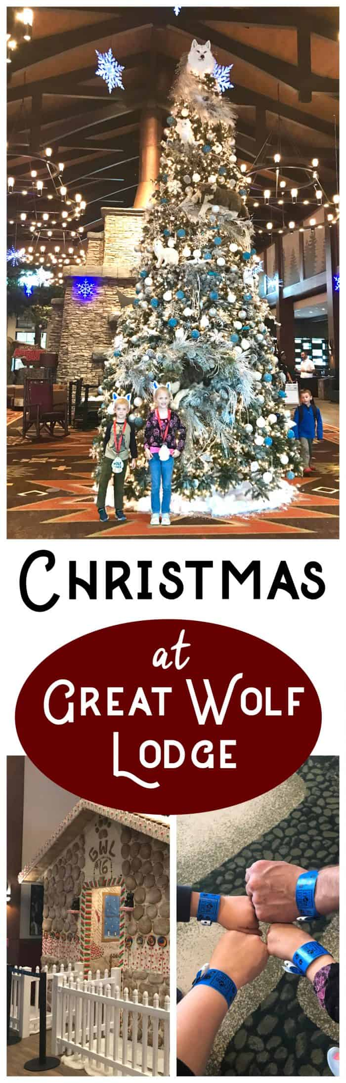 Great Wolf Lodge Christmas with Great Wolf Lodge snowland