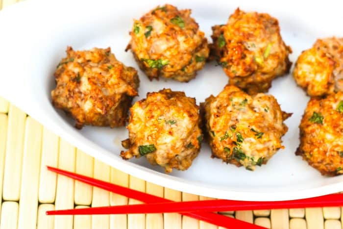 Weight Watchers Air Fryer recipes low carb meatballs
