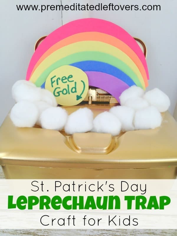 upcycle leprechaun trap