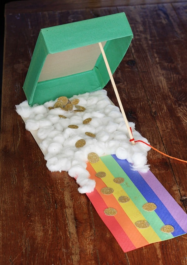 cereal box leprechaun trap