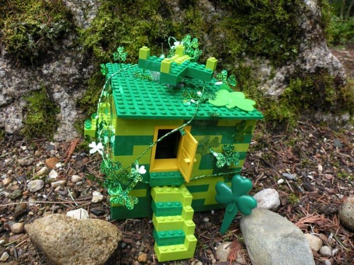 lego leprechaun trap