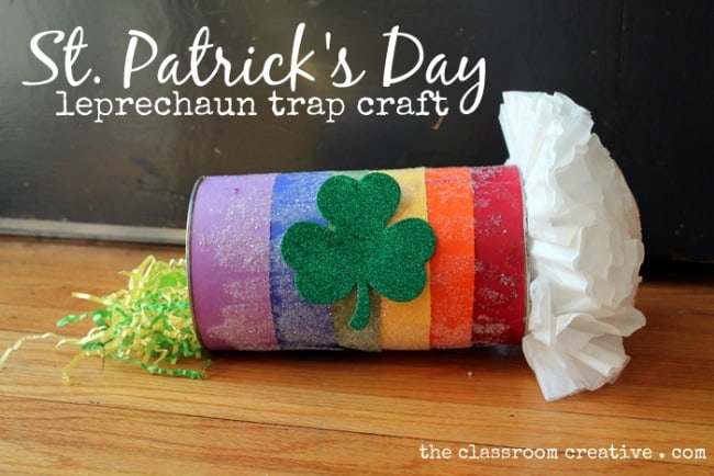 toilet paper roll leprechaun trap
