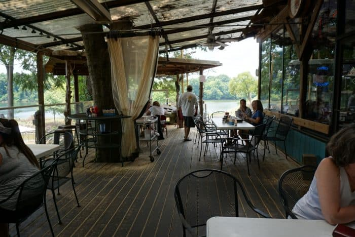 Capital oyster bar deck