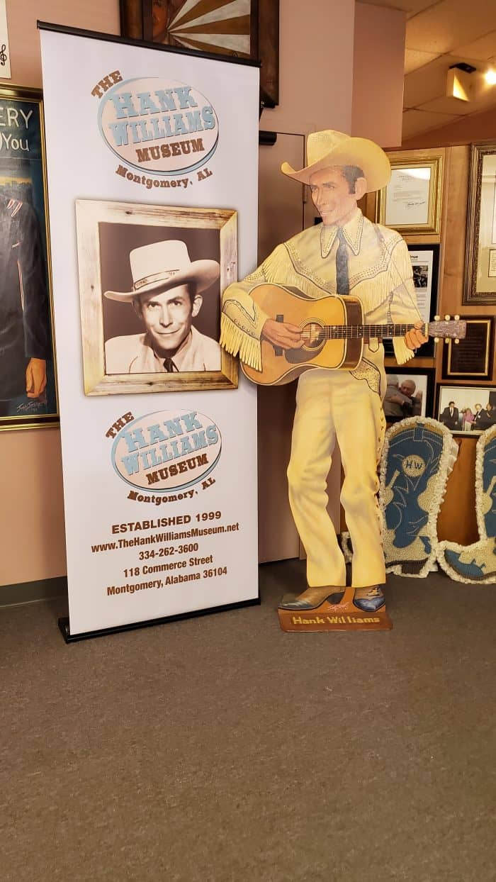 hank williams museum interior