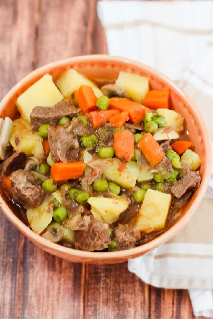Lazy Instant Pot Beef Stew