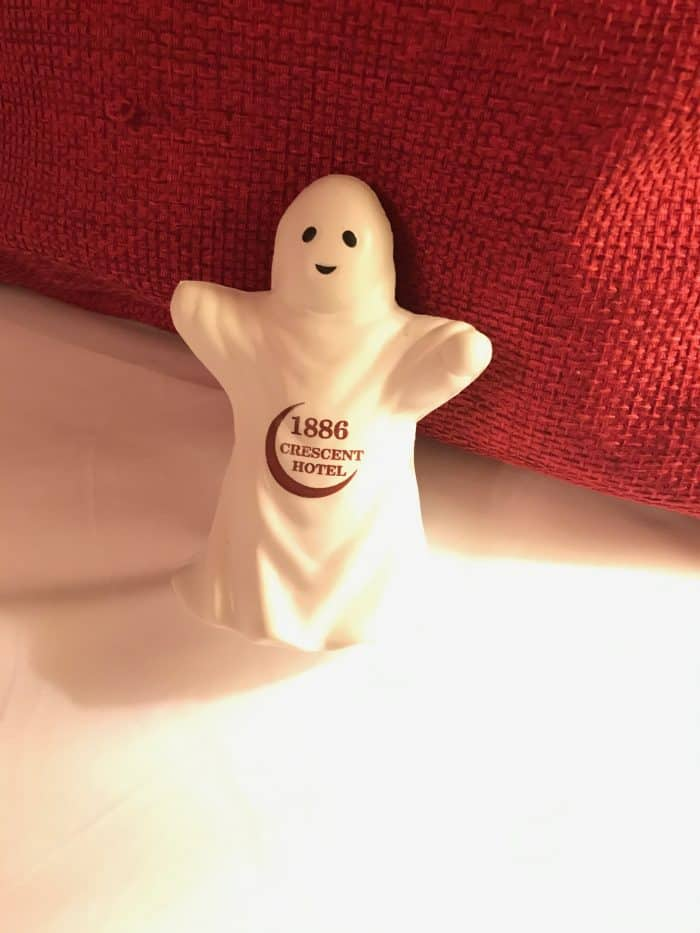 crescent hotel glow in the dark souvenir ghost