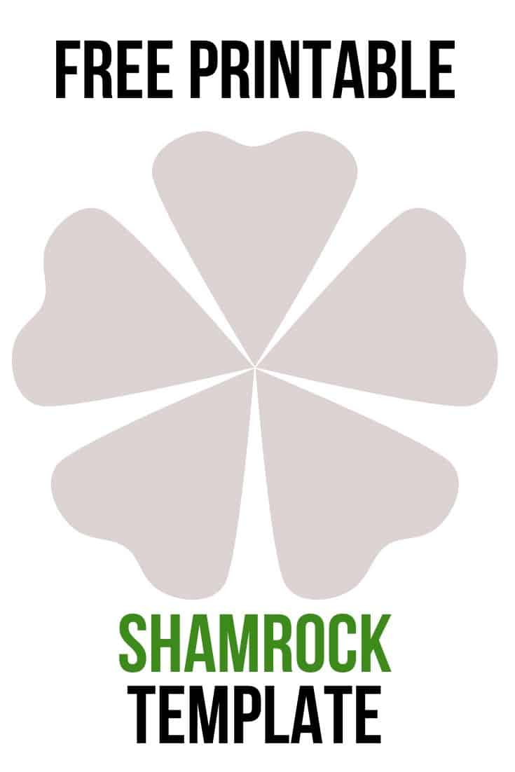 shamrock template