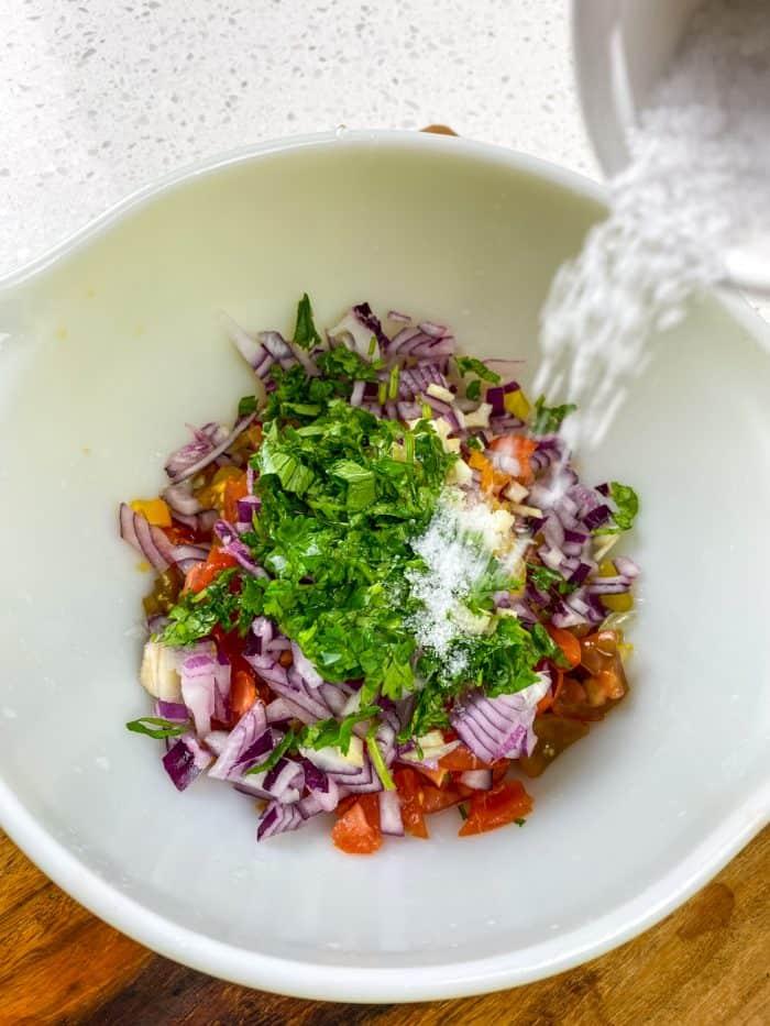 pico de gallo vs salsa