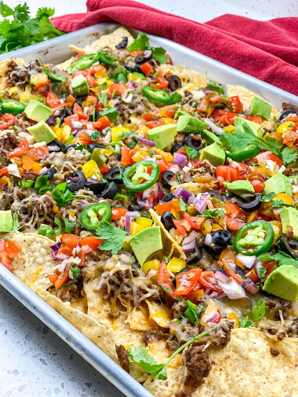 restaurant style beef nachos recipe