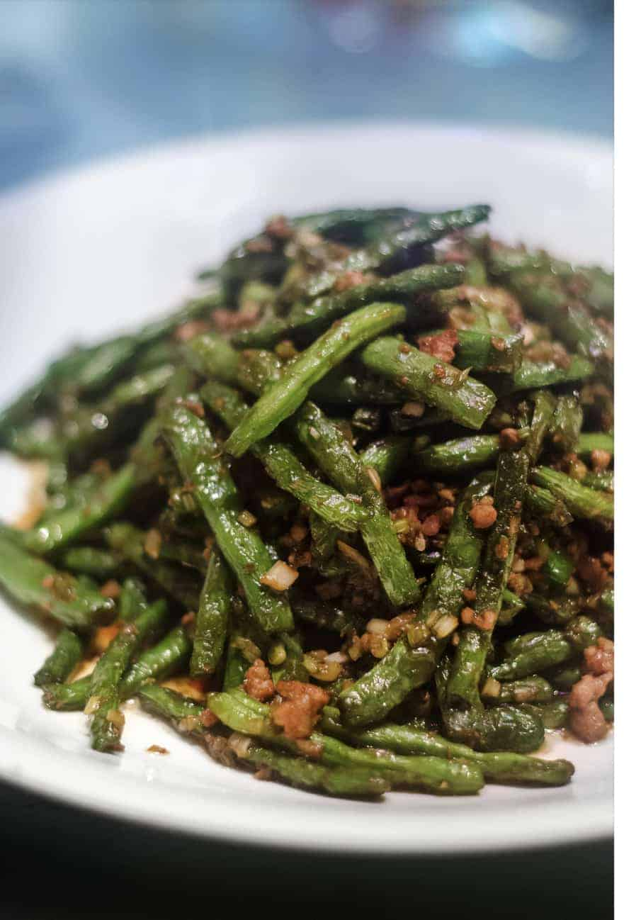 chinese green beans restaurant style