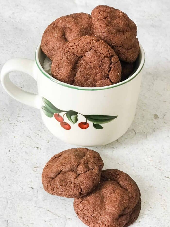 coffee flavored cookies